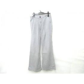 【中古】 ギャップ GAP パンツ サイズ2 M レディース 黒 白