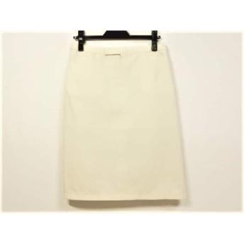 【中古】 エフデ ef-de スカート サイズ3 L レディース アイボリー