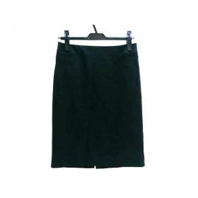 【中古】 ボッシュ BOSCH スカート サイズ38 M レディース ブラック