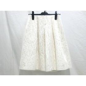 【中古】 ストロベリーフィールズ STRAWBERRY-FIELDS スカート サイズ2 M レディース アイボリー