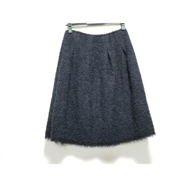 【中古】 ドレステリア DRESSTERIOR スカート サイズ36 S レディース ダークグレー