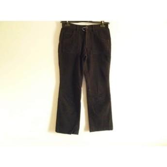 【中古】 パーリーゲイツ PEARLY GATES パンツ サイズ1 S レディース 黒