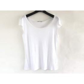 【中古】 ナラカミーチェ NARACAMICIE ノースリーブTシャツ サイズ1 S レディース 白