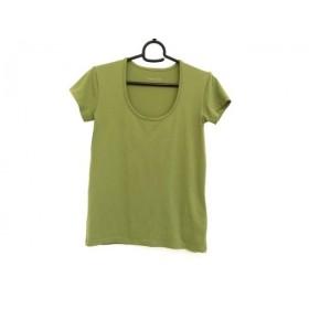 【中古】 セオリー theory 半袖Tシャツ サイズ4 S レディース ライトグリーン