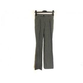 【中古】 ビースリー B3 B-THREE パンツ サイズ30 XS レディース 黒 アイボリー
