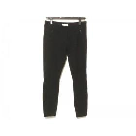 【中古】 スリーワンフィリップリム 3.1 Phillip lim パンツ サイズ0 XS レディース 黒 ストレッチ