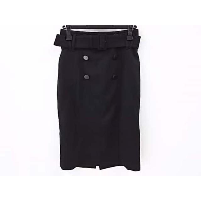 【中古】 ボディドレッシングデラックス BODY DRESSING Deluxe スカート サイズ40 M レディース 黒
