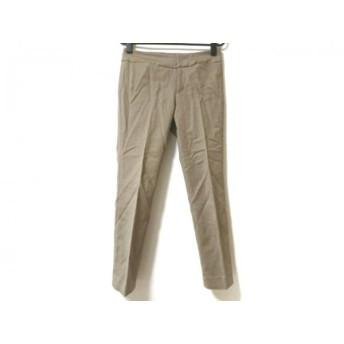 【中古】 アマカ AMACA パンツ サイズ36 S レディース ライトブラウン