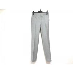 【中古】 セオリー theory パンツ サイズ0 XS レディース ライトグレー