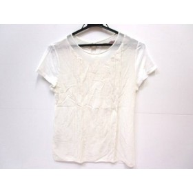【中古】 コントワーデコトニエ 半袖Tシャツ サイズS S レディース ホワイト アイボリー