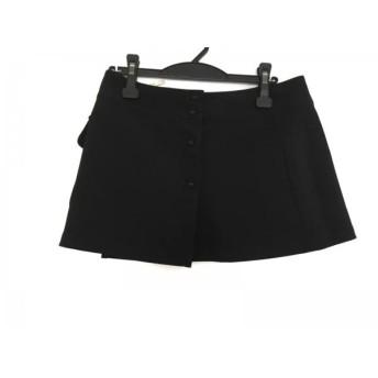 【中古】 トクコ・プルミエヴォル TOKUKO 1er VOL ミニスカート サイズ9 M レディース 黒