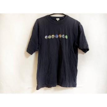 【中古】 ポールスミス PaulSmith 半袖Tシャツ サイズM メンズ ダークネイビー