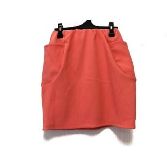 【中古】 ヘザー heather スカート サイズF レディース オレンジ