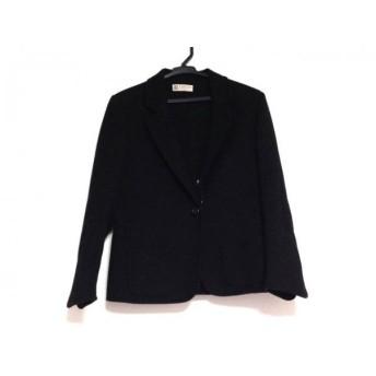 【中古】 ランバン LANVIN ジャケット サイズ38 M レディース 黒
