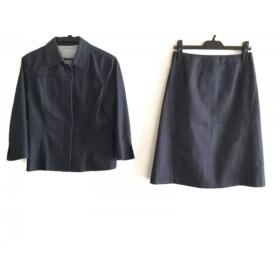 【中古】 ジェイプレス J.PRESS スカートスーツ サイズ11 M レディース ネイビー デニム