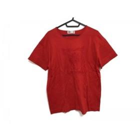 【中古】 ダックス DAKS 半袖Tシャツ サイズF F レディース レッド