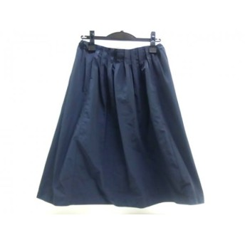【中古】 ノーブランド スカート サイズ40 M レディース ネイビー