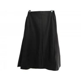 【中古】 フレイアイディー FRAY I.D スカート サイズ0 XS レディース 黒 フェイクレザー