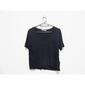 【中古】 アレキサンダーワン TbyALEXANDER WANG 半袖Tシャツ サイズXS レディース 黒