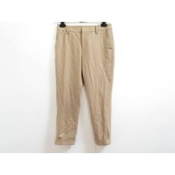 【中古】 ノーリーズ NOLLEY'S パンツ サイズ36 S レディース ベージュ