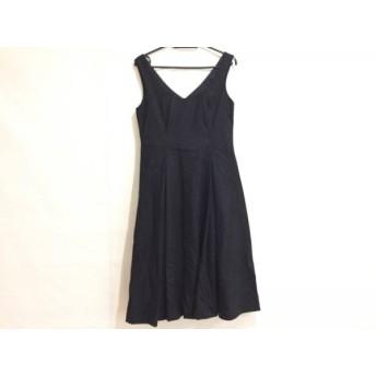 【中古】 ボディドレッシングデラックス BODY DRESSING Deluxe ワンピース サイズ38 M レディース 美品 黒