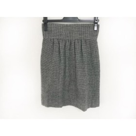 【中古】 チャンミー Chang Mee スカート サイズ2 M レディース 黒 白