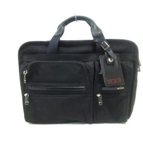 中古 TUMI トゥミ ビジネスバッグ ナイロン×レザー 26141D4