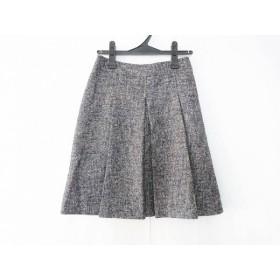 【中古】 セオリーリュクス スカート サイズ36 S レディース ネイビー ベージュ 白 ツイード