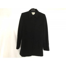 【中古】 アトリエサブ ATELIER SAB コート サイズ9M レディース 黒