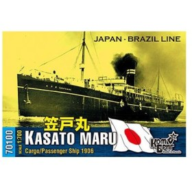 1/700 日・貨客船「笠戸丸」・1906 レジンキット[コンブリック]《在庫切れ》
