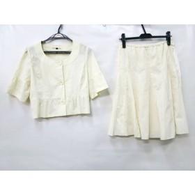 【中古】 ノーブランド スカートスーツ サイズM レディース アイボリー