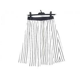 【中古】 ビューティアンドユース ユナイテッドアローズ スカート サイズM レディース 白 黒