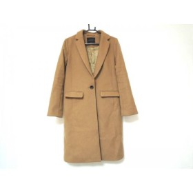 【中古】 ブリスポイント BLISS POINT コート サイズXL レディース ブラウン 冬物