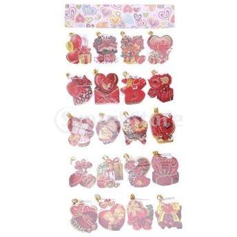 約160枚 メッセージカード ロマンチック メッセージ メモカード 贈り物カード 結婚式 好意 多仕様選択 - #12, 8.2 x 7.5 cm