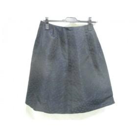 【中古】 アンタイトル UNTITLED スカート サイズ2 M レディース ブラック