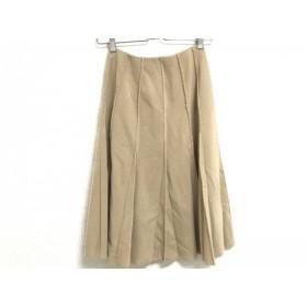 【中古】 フォクシー FOXEY スカート サイズ40 M レディース ライトブラウン