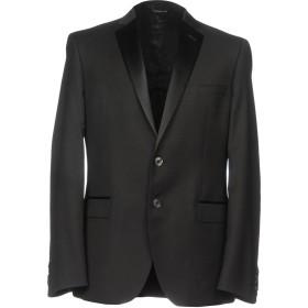 《セール開催中》TONELLO メンズ テーラードジャケット ブラック 50 バージンウール 100%