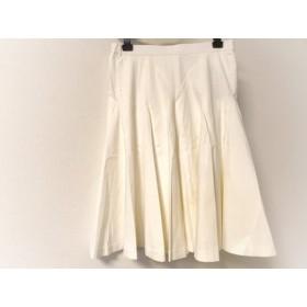 【中古】 マダムヒロコ MADAME HIROKO スカート サイズ7 S レディース アイボリー