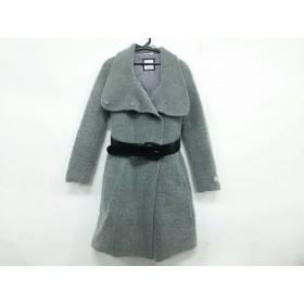 【中古】 タトラス TATRAS コート レディース 美品 LTA14A4359 グレー 冬物/内側ダウン