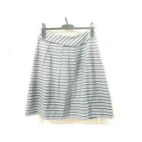 【中古】 アンタイトル UNTITLED スカート サイズ2 M レディース 黒 白