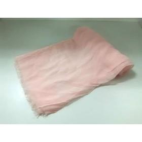 【中古】 ロペ ROPE ストール(ショール) 美品 ピンク レーヨン