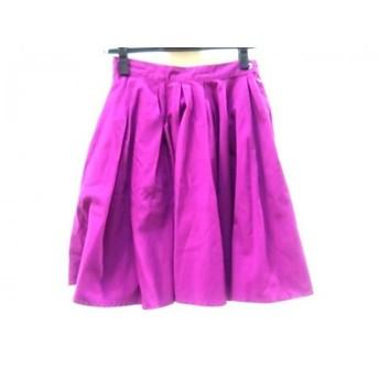 【中古】 シスレー SISLEY スカート サイズ26 S レディース パープル