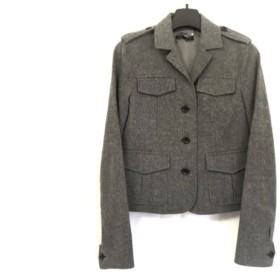 【中古】 セオリー theory ジャケット サイズ2 S レディース 美品 グレー