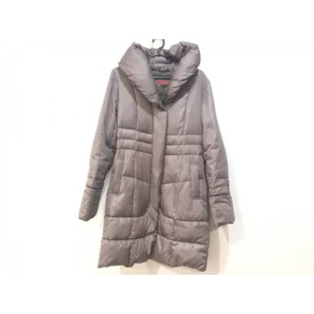 【中古】 メイソングレイ MAYSON GREY ダウンコート サイズ2 M レディース ブラウン 冬物