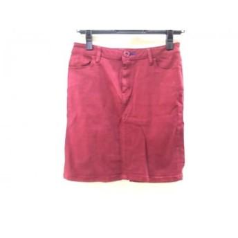 【中古】 スライ SLY ミニスカート サイズ2 M レディース 赤