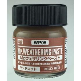GSIクレオス 【WP05】 Mr.ウェザリングペースト マッドレッド
