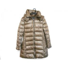 【中古】 タトラス ダウンコート サイズ3 L レディース 美品 バビラ LTA17A4425 ダークブラウン 冬物