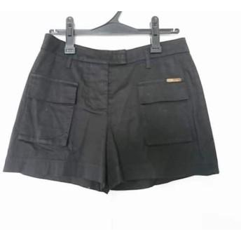【中古】 ブルマリン BLUMARINE ショートパンツ サイズI42 M レディース 黒