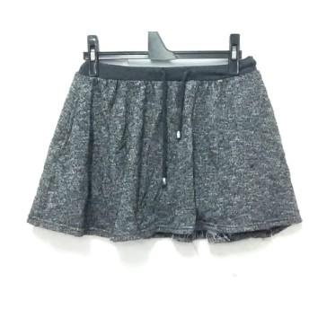 【中古】 ダズリン DAZZLIN ミニスカート サイズF レディース ダークグレー
