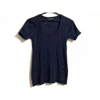 【中古】 ラルフローレン RalphLauren 半袖Tシャツ サイズL レディース ネイビー